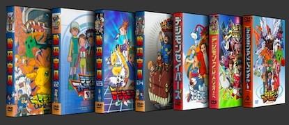 デジモン 第1+2+3+4+5+6作+劇場版 全巻 DVD-BOX