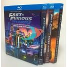 Fast & Furious Spy Racers ワイルド・スピード/スパイレーサー 第1+2+3期 Blu-ray BOX 全巻
